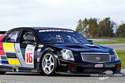 Max Angelelli in the Cadillac CTS-V