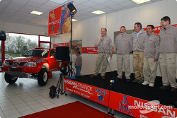 Nissan Dessoude team presentation