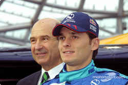 Peter Sauber and Giancarlo Fisichella