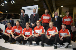Mitsubishi WRC 04 drivers line-up