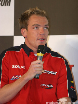 Robert Doornbos interview on Autosport Stage