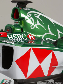Detail of the new Jaguar R5