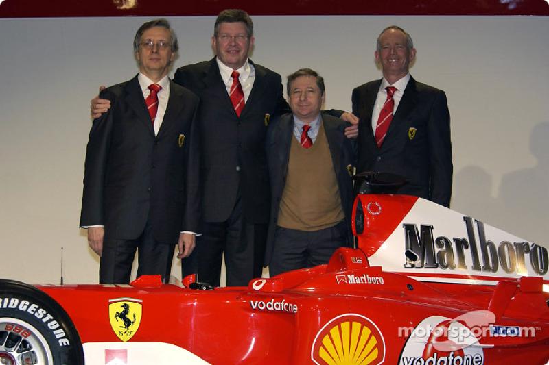 Berger teme que la dirección de Ferrari sea demasiado para Binotto