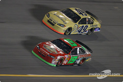 Jeremy Mayfield and Ken Schrader