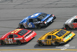 Ricky Rudd, Mark Martin and Matt Kenseth