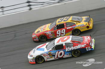 Scott Riggs and Jeff Burton