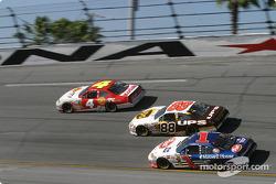 Kevin Lepage, Dale Jarrett and John Andretti