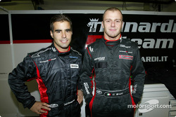 Zsolt Baumgartner and Gianmaria Bruni