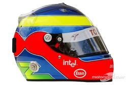 Photoshoot: Ricardo Zonta's helmet