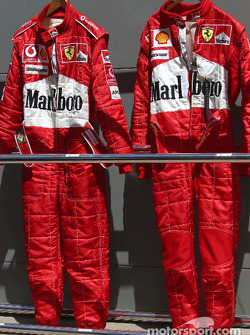 Ferrari drivers suits