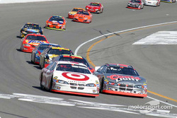 Casey Mears passes Sterling Marlin