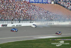 Ryan Newman recovers from the spin