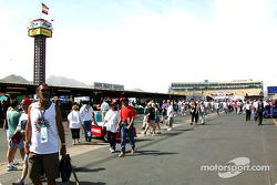 Fans at Phoenix International Raceway