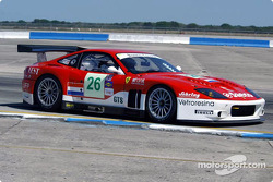 #26 Barron Connor Racing Ferrari 575 GTC: Jean-Denis Deletraz, Mike Hezemans, Ange Barde