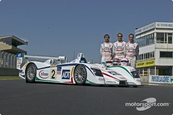 #2 Champion Racing Audi R8: J.J. Lehto, Emanuele Pirro, Marco Werner