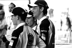 Anthony Davidson, Jenson Button and Takuma Sato