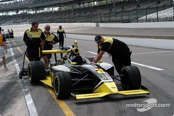 Phil Giebler's car to the grid
