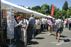 Vendors at scrutineering