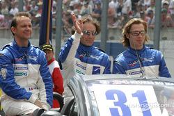 Drivers presentation: Alexander Frei, Jean-Marc Gounon, Sam Hancock
