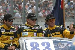 Drivers presentation: Gabriel Rosa, Peter van Merksteijn, Alex Caffi