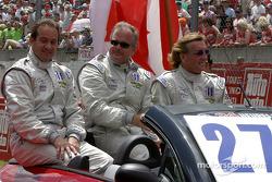 Drivers presentation: Jon Field, Duncan Dayton, Larry Connor