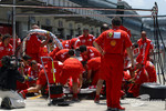 Pitstop practice at Ferrari