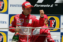 Podium: Rubens Barrichello