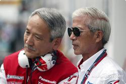 Tsutomu Tomita and Dr Saito