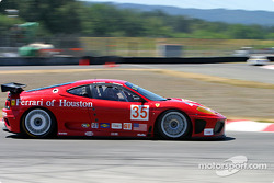#35 Risi Competizione Ferrari 360 GTC Modena: Ralf Kelleners, Anthony Lazzaro