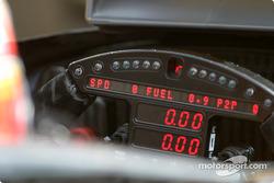 Oriol Servia's steering wheel