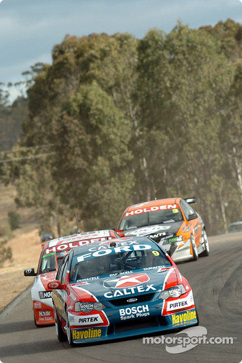 Russell Ingall, Jason Bright and Jason Richards