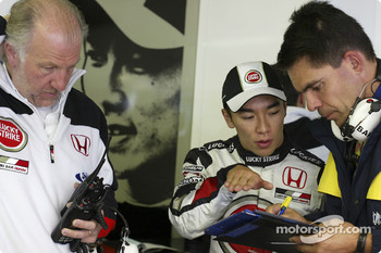 David Richards and Takuma Sato
