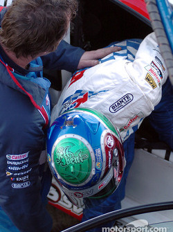 Rick Kelly grabbing pole position