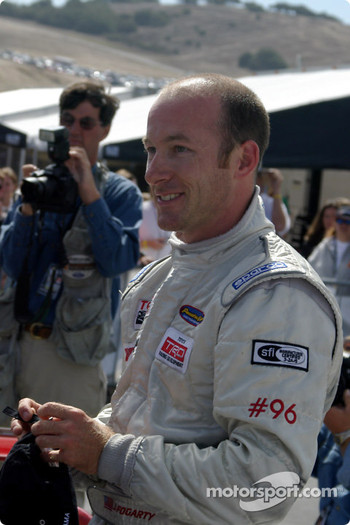 Race winner and Atlantic Series 2004 champion Jon Fogarty