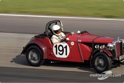 1951 MG TD of George Shafer