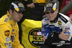 Elliott Sadler and Mark Martin