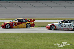 #98 Alegra Motorsport/GT Technologies BMW M3: Carlos DeQuesada, Brian Cunningham, #22 Prototype Technology Group BMW M3: Joey Hand, Boris Said