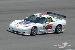 #46 Michael Baughman Racing Corvette: Mike Yeakle, Michael Baughman