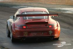 #45 Flying Lizard Motorsports Porsche 911 GT3 RSR: Johannes van Overbeek, Darren Law, Patrick Huisman