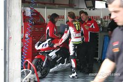 Yamaha Motor Deutschland pit area