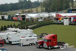 Barber Motorsports Park paddock area
