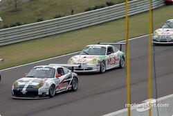 #77 G&W Motorsports Porsche GT3 RS: Mark Greenberg, Spencer Pumpelly, #36 TPC Racing Porsche GT3 Cup: Michael Levitas, Randy Pobst