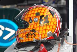 Helmet of RJ Valentine
