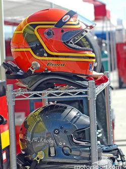 Helmets ready to go