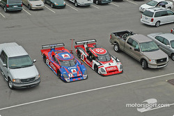 Howard - Boss Motorsports Pontiac Crawford cars amoung pickup trucks