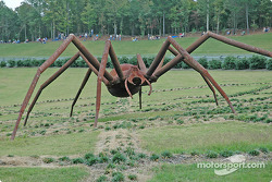 Another view of the spider at Barber Motorsports Park