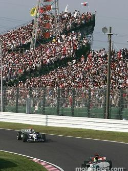 Mark Webber and Juan Pablo Montoya