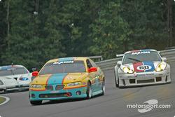 #23 Horizon Motorsports Pontiac GTO: Charles Espenlaub, Frank Del Vecchio, #60 Gunnar Racing Porsche GT3 RS: Gunnar Jeannette, Marino Franchitti
