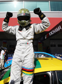 Gabriele Tarquini, SR - Sport, Seat Leon 2.0 TDI celebrates his win