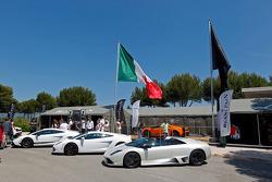 Lamborghini display